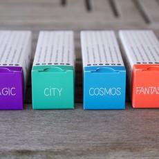 OMY Pocket kleurplaat city