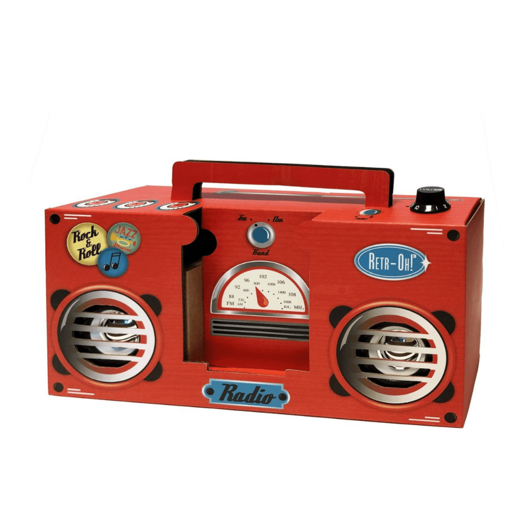 Retr-Oh! Radio in karton