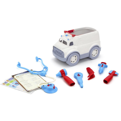 Green Toys Ambulance and doctor's set
