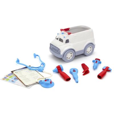Green Toys Ensemble d'ambulance et de médecin