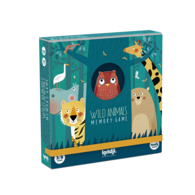 Londji Wild animals memory game