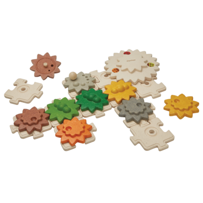 Plan Toys Gears & puzzles giant