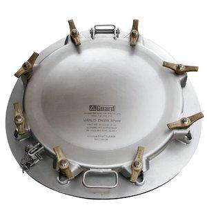 Manlid assembly 500 mm laag profiel, 8 punts bevestiging