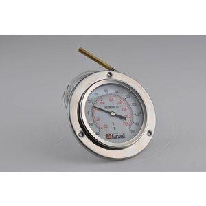 """Temperaturanzeige DN100 / 4"""", Bereich: -40 / 180 ° C, - 50/350 ° F"""