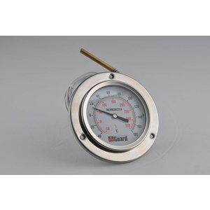 """Temperatuurmeter DN100 / 4"""", Bereik: -40 / + 180 ° C, - 50/350 ° F"""