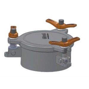 170 mm Altura de montaje de inspección 75 mm