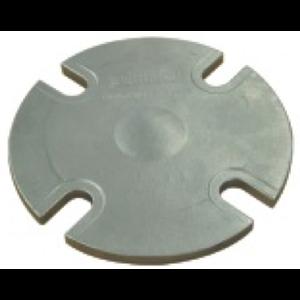 Brida ciega moldeada para descarga superior con orificios ranurados