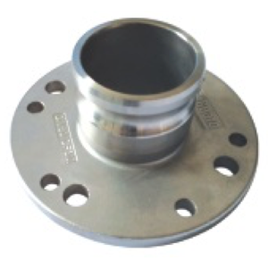 Round flange to Quick Coupling for Top Discharge