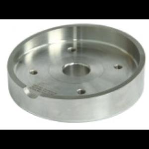 """Brida de rebaje para válvula de bola de entrada de aire de 1.5"""" SS 316L"""
