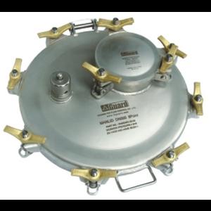 Manlid assembly 500 mm met 170 mm inspectie, 8 punten