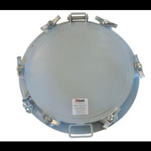 500 mm manlid assembly voor bitumen, 6 punten