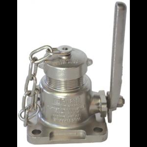 """Válvula de bola de entrada de aire BSP de 1,5"""" en SS 316 NUEVO"""