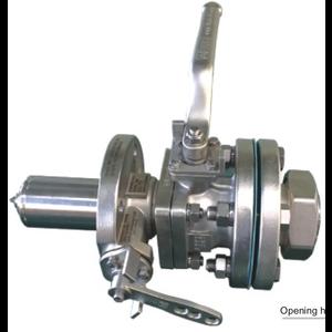 T50 Válvula de líquido DN50 SS316 Ajuste de presión 34,5 bar
