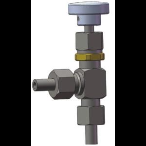 T75 Kryo-Nadelventil, Nenndurchmesser DN6, Edelstahl 304