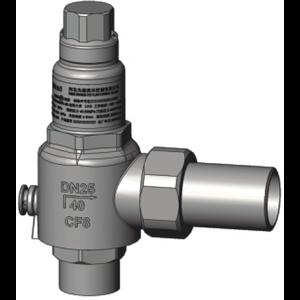 Válvula de alivio T75 DN 25 Ajuste de presión 0,75 Mpa