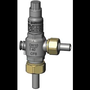 Válvula de alivio T75 DN 10 Ajuste de presión 1,6 Mpa