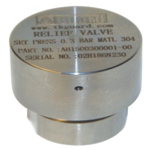 "1/2"" BSP Safety Relief Valve SS 304"
