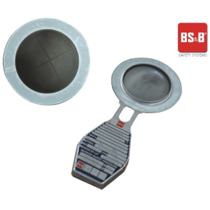 Berstscheibe - 65 mm, 4,84 Bar @ 20 ° C