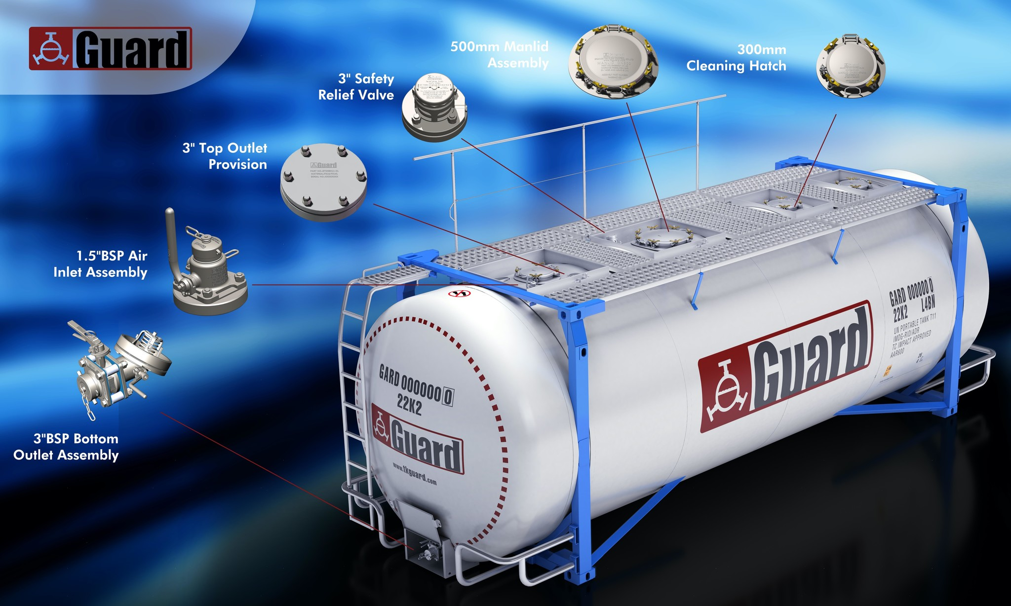 ISO Tank Container Parts