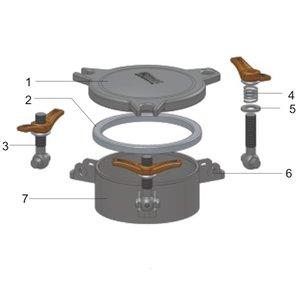 Couvercle d'inspection de 170 mm
