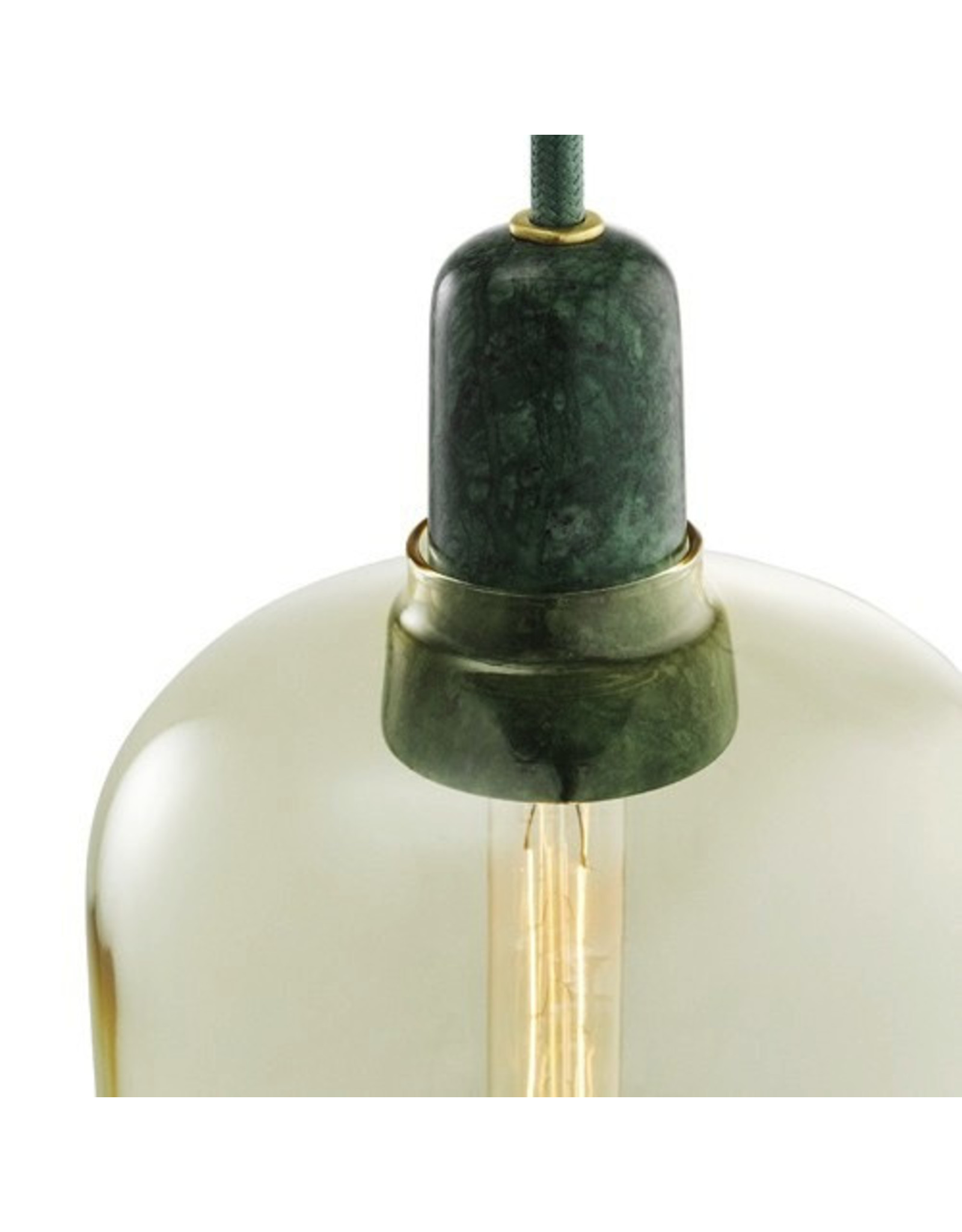 verlichting Amp lamp large green