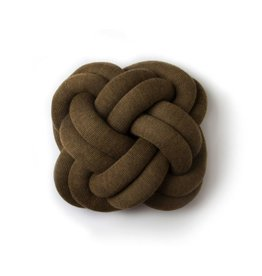 kussens KNOT BROWN
