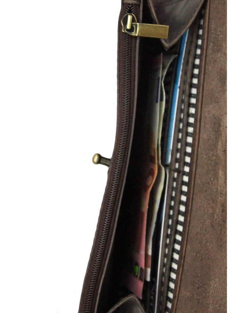 accessoires O MY BAG PIXIES POUCH ECO DARK BROWN