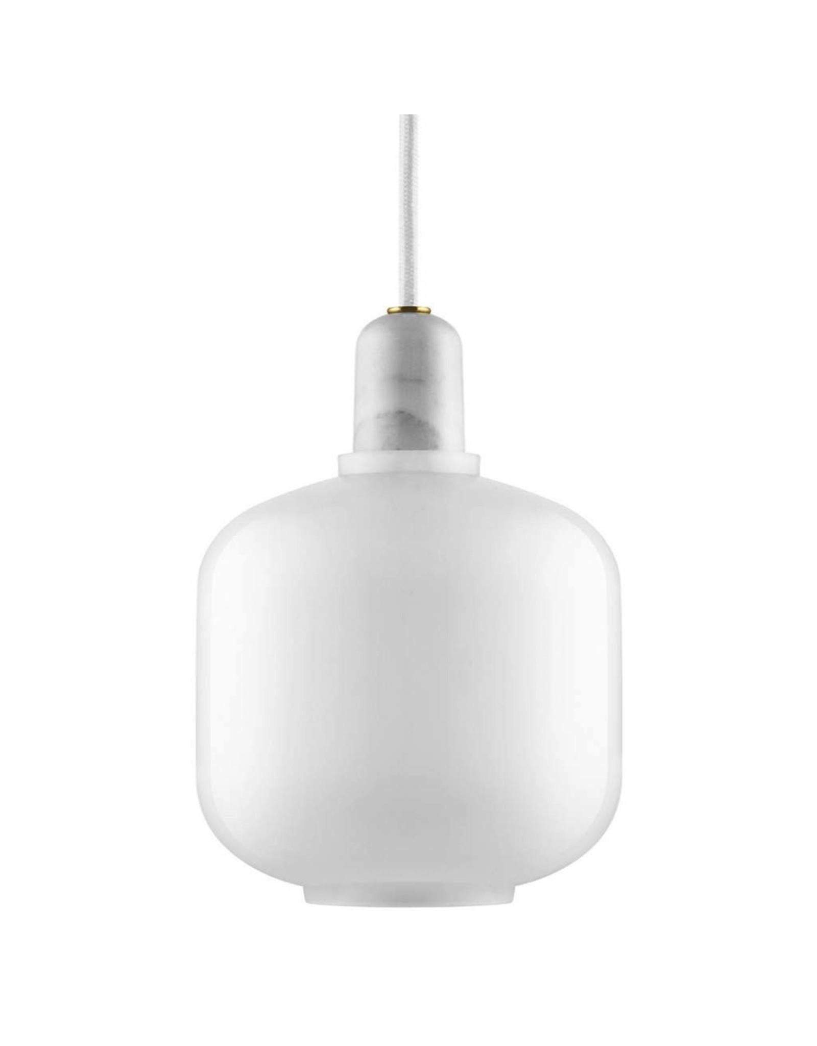 verlichting Amp Lamp Small White/White