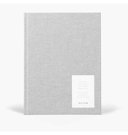Papierwaren EVEN WORK JOURNAL LARGE, LIGHT GRAY CLOTH