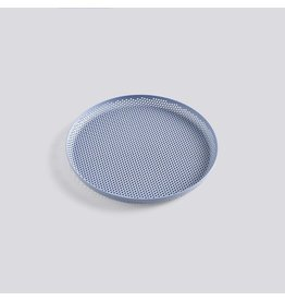Dienbladen PERFORATED TRAY M LIGHT BLUE  26,5CM