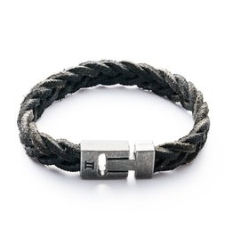 Juwelen LEATHER BLACK M