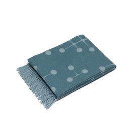 textiel EAMES WOOL BLANKET LIGHT BLUE