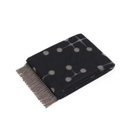 textiel EAMES WOOL BLANKET BLACK
