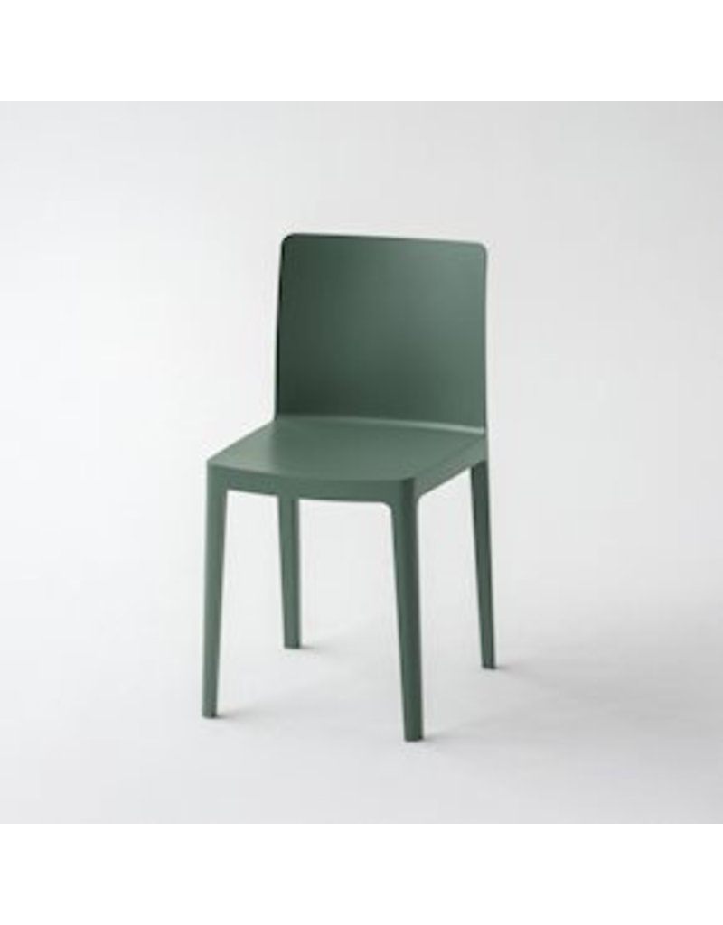 Stoelen ÉLÉMENTAIRE CHAIR / SMOKY GREEN