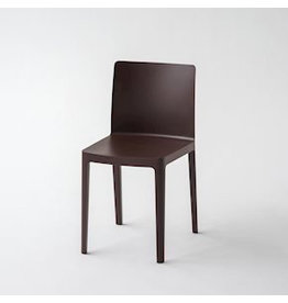 Stoelen ÉLÉMENTAIRE CHAIR / CHOCOLATE BROWN