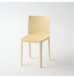 Stoelen ÉLÉMENTAIRE CHAIR / LIGHT YELLOW