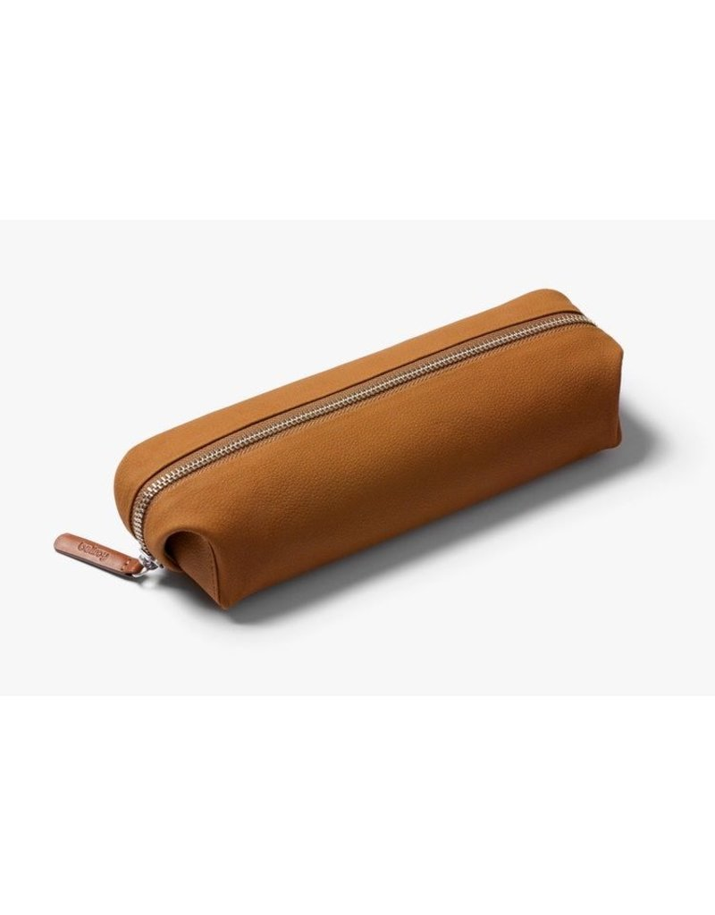 Gadgets PENCIL CASE PLUS LEATHER TAN