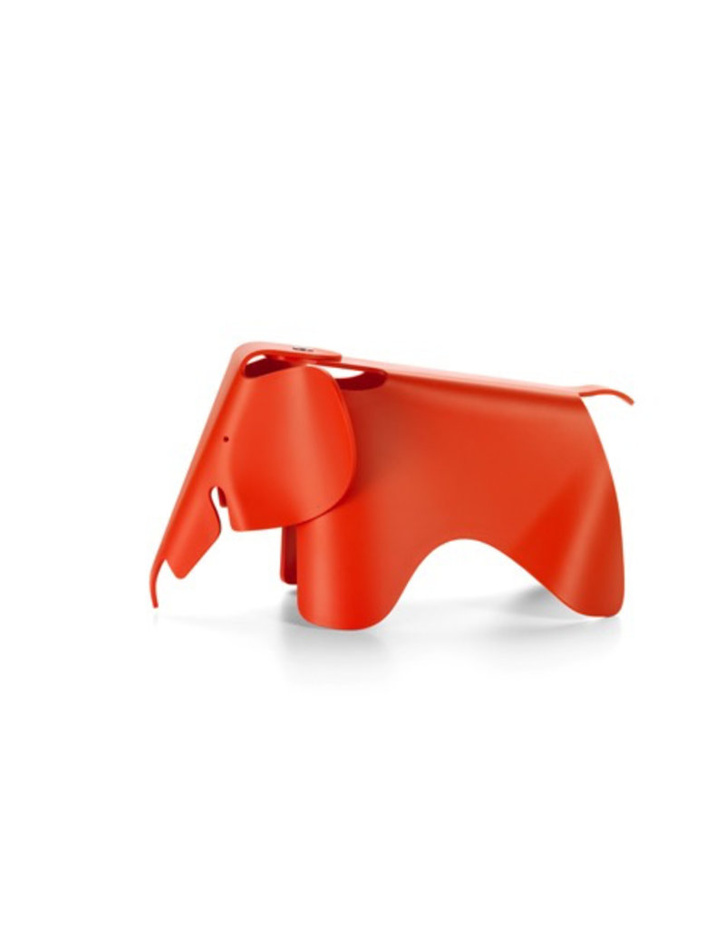 accessoires EAMES ELEPHANT SMALL POPPY RED