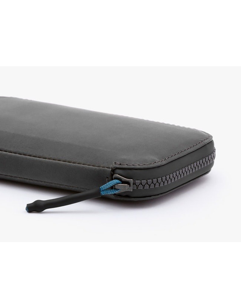 Gadgets ALL CONDITIONS PHONE POCKET - LEATHER CHARCOAL