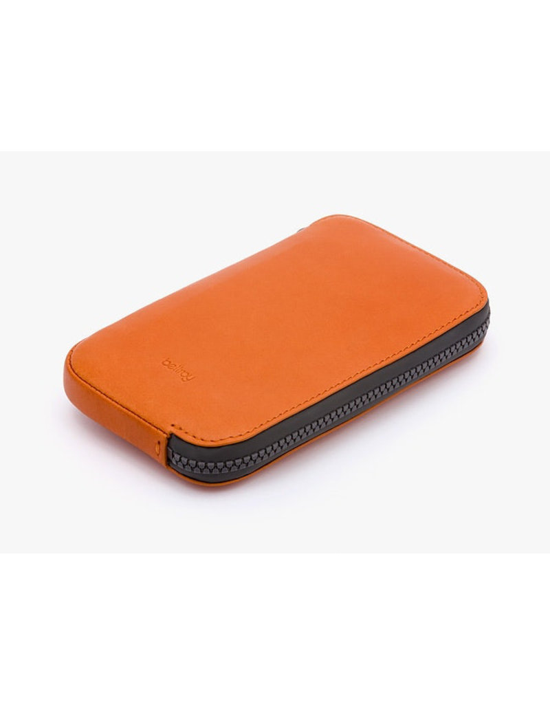Gadgets ALL CONDITIONS PHONE POCKET - LEATHER BURNT ORANGE