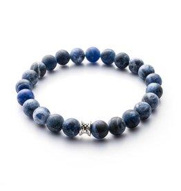 Juwelen BASIC 8MM MAT BLUE S