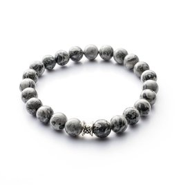 Juwelen Basic 8mm Grey M