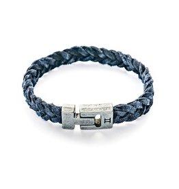 Juwelen Leather Navy Blue M