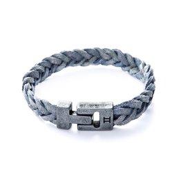 Juwelen Leather Grey S
