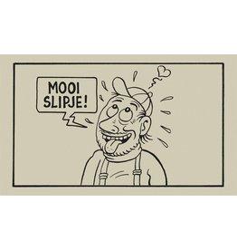 Tapijten CLEAN FEET - MOOI SLIPJE - 75X74CM