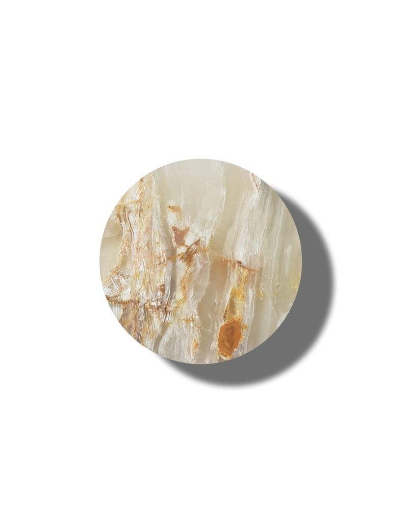 Kaarsen NATURAL ONYX CANDLE HOLDER