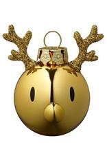 kerst Brass Olive Christmas Ornament (2pcs)