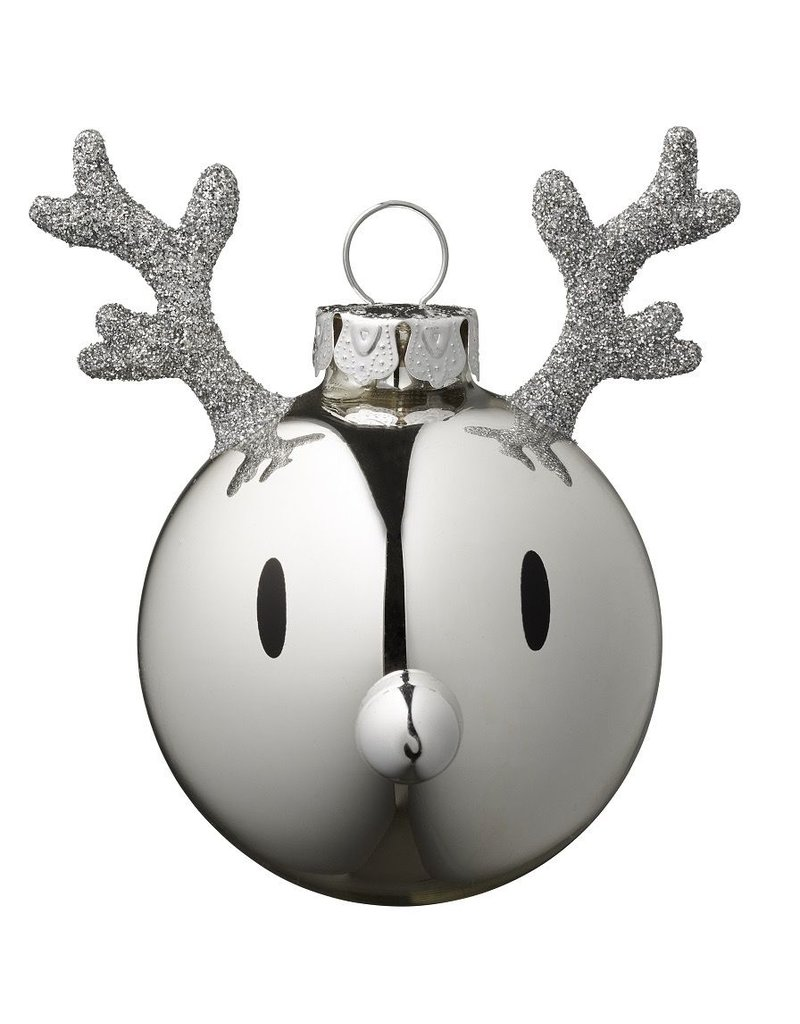 kerst Reindeer Christmas Ornament (2pcs)