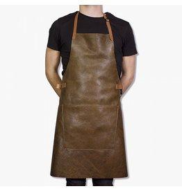 Keukengerei BBQ-STYLE APRONS - VINTAGE FULL GRAIN LEATHER - VINTAGE BROWN