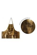 Keukengerei APRON ZIPPER STYLE - FLASH COLLECTION - GOLDEN CRAQULE METALLIC